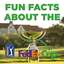FedExCup Fun Facts