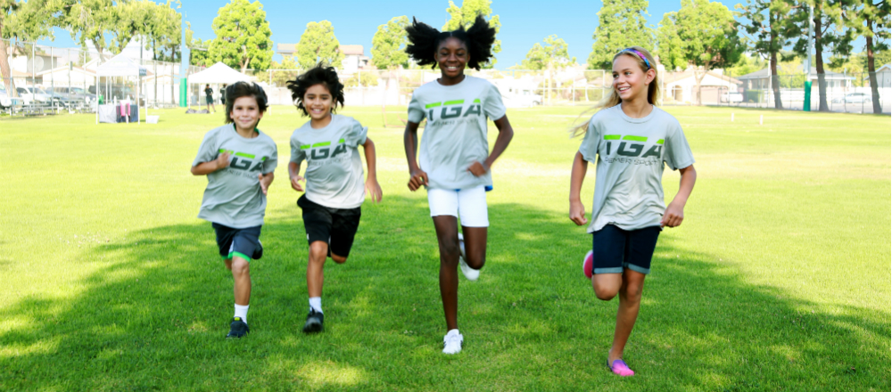 TGA Students Running