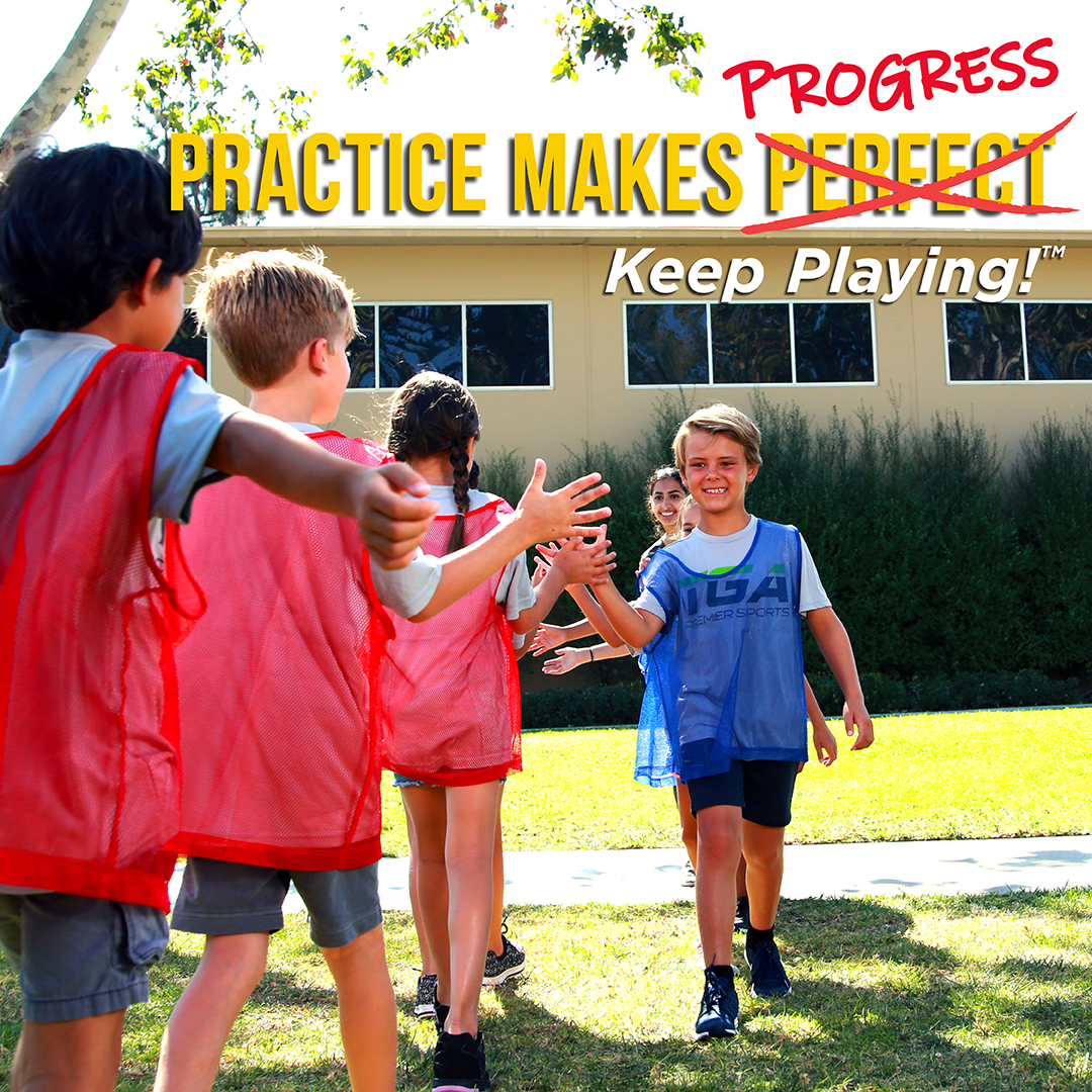 Practice Makes Progress - Sports