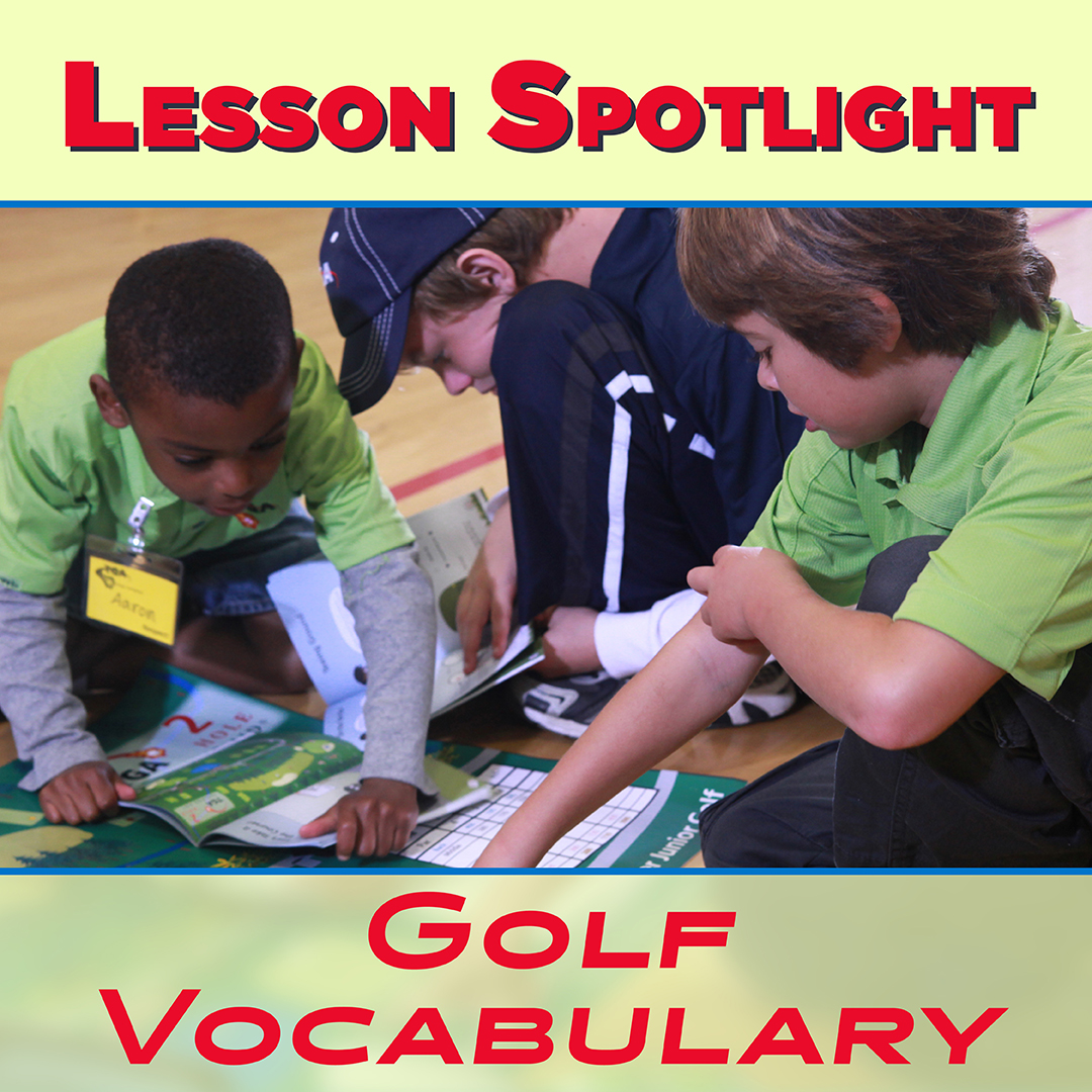 Lesson Spotlight: Golf Vocabulary