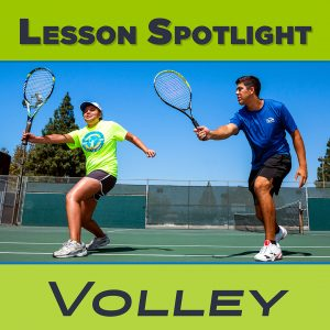 Tennis Lesson Spotlight Volley