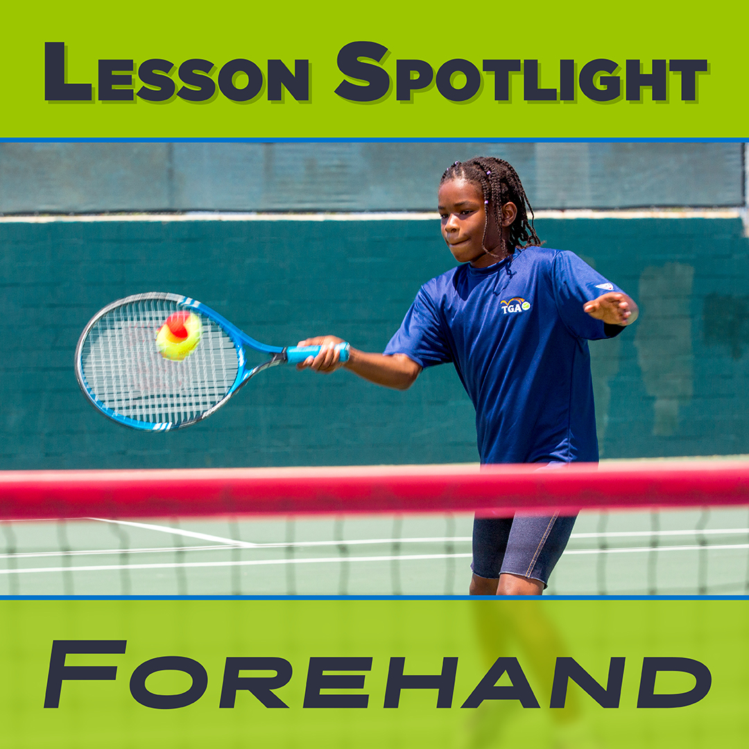 Lesson Spotlight: Tennis Forehand