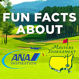 Fun Facts about April Golf Majors