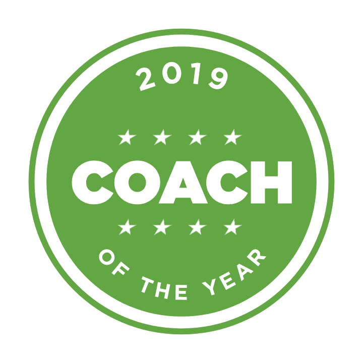 2018 Coach of the Year Emblem