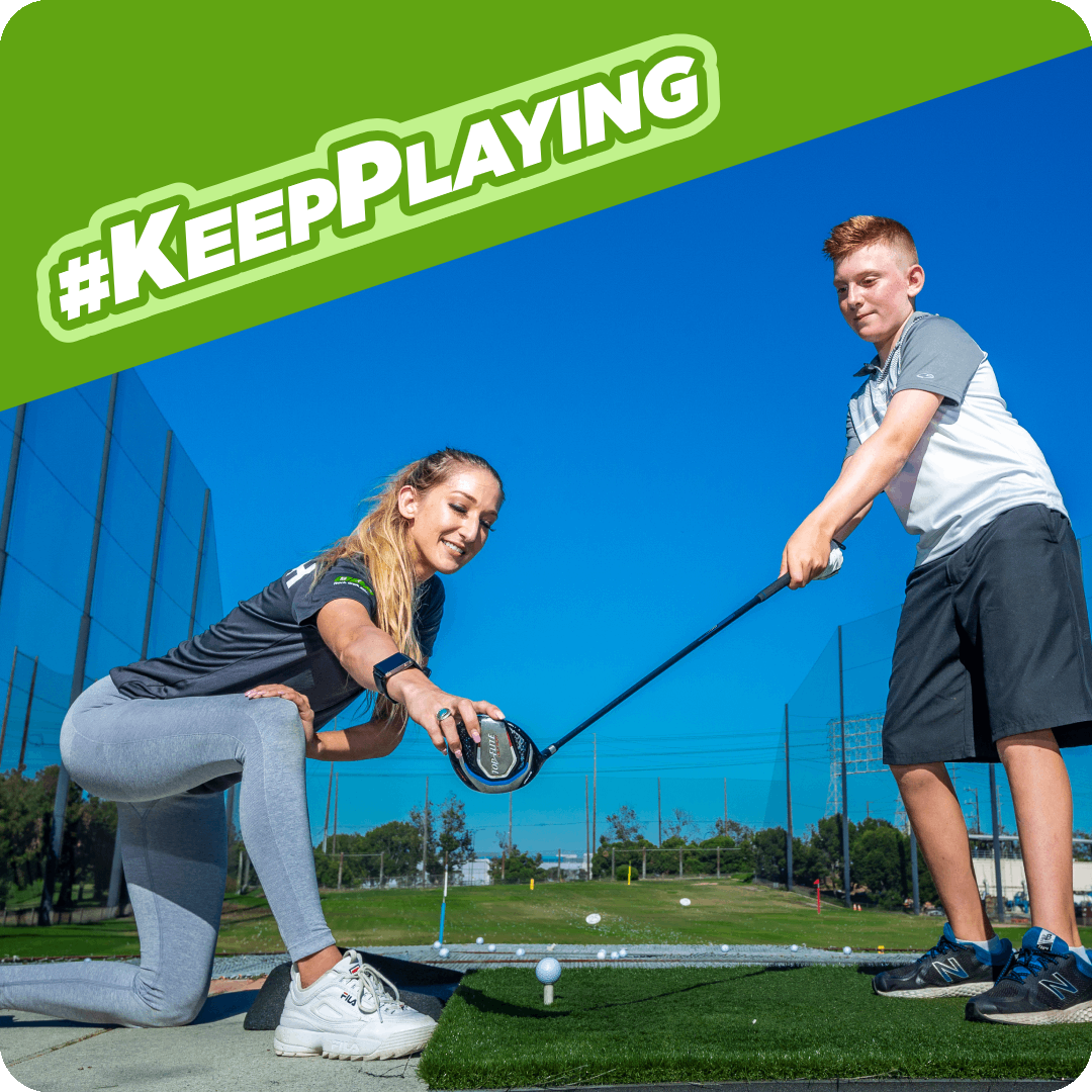 #KeepPlaying Golf Featured Image