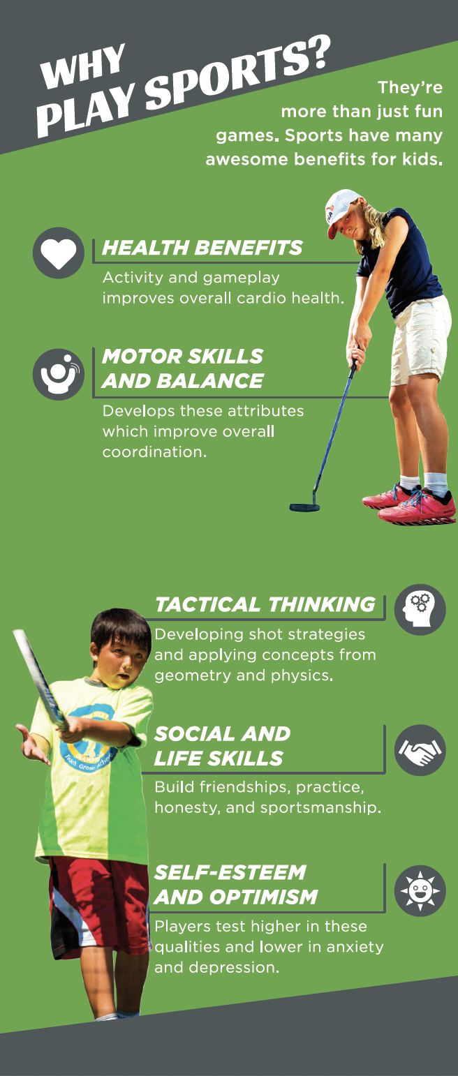 Benefits of Playing Sports